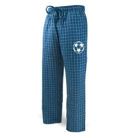 Soccer Lounge Pants Soccer Ball Icon