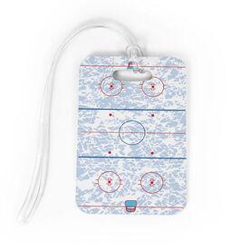 Hockey Bag/Luggage Tag - Ice Hockey Rink