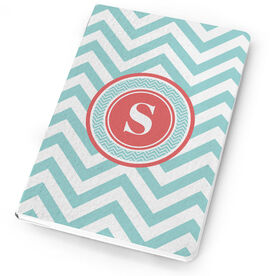 Swimming Notebook Single Letter Monogram