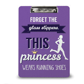 Running Custom Clipboard Forget The Glass Slippers This Princess Wears Running Shoes