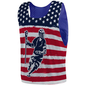 Guys Lacrosse Pinnie - American Lax Player
