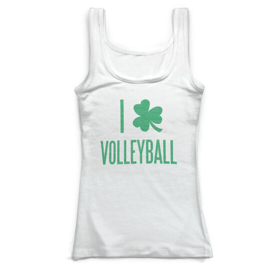 6e63e6c1 Volleyball Vintage Fitted Tank Top - I Shamrock Volleyball ...