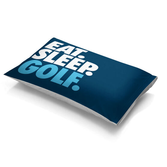 Golf Pillowcase - Eat Sleep Golf