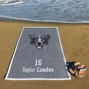 Volleyball Premium Beach Towel - Custom Team Logo