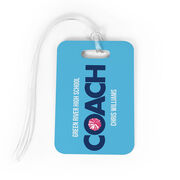 Cheerleading Bag/Luggage Tag - Personalized Coach