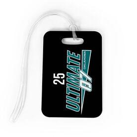 Softball Bag/Luggage Tag - Ultimate 07 Logo with Number