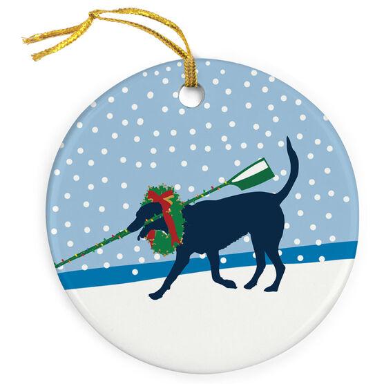 Crew Porcelain Ornament Charlie The Crew Dog