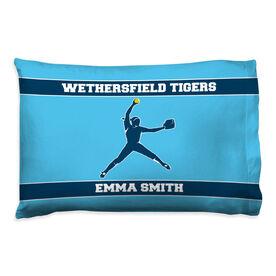 Softball Pillowcase - Personalized Pitcher