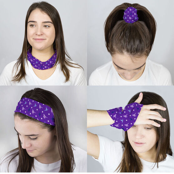 Gymnastics Multifunctional Headwear - Gymnastics Pattern RokBAND