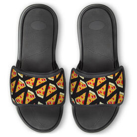 Personalized Repwell® Slide Sandals - Pizza