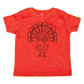 Youth Short Sleeve T-Shirt - My Little Turkey