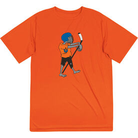 Hockey Short Sleeve Performance Tee - Hockey Zombie