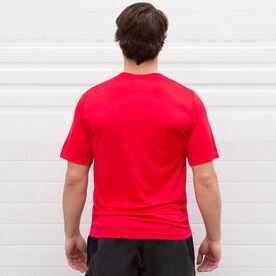 Men's Running Short Sleeve Tech Tee - Wyoming State Runner