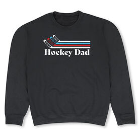 Hockey Crew Neck Sweatshirt - Hockey Dad Sticks