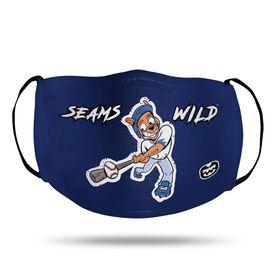Seams Wild Baseball Face Mask - Coco Loco