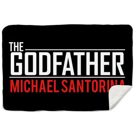 Sherpa Fleece Blanket - The Godfather