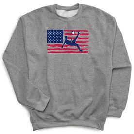 Soccer Crew Neck Sweatshirt - Guys Soccer Land That We Love