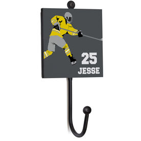 Hockey Medal Hook - Player With Name and Number
