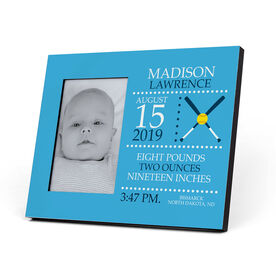 Softball Photo Frame - Birth Announcement