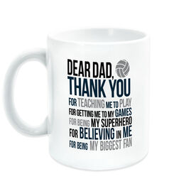 Volleyball Coffee Mug - Dear Dad