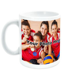 Volleyball Coffee Mug Custom Photo