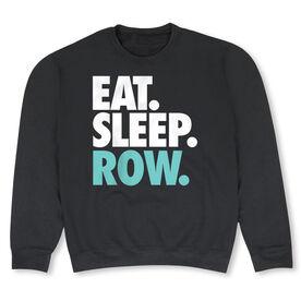 Crew Crew Neck Sweatshirt - Eat Sleep Row (Bold)