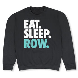 Crew Crew Neck Sweatshirt - Eat Sleep Row (Bold)
