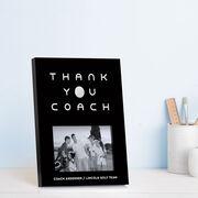 Golf Photo Frame - Thank You Coach