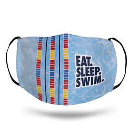 Swimming Face Mask - Eat Sleep Swim
