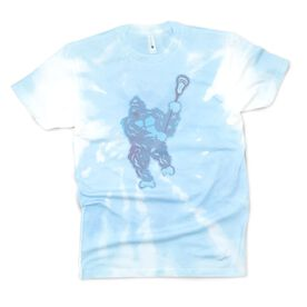 Guys Lacrosse Short Sleeve T-Shirt - King of the Field Tie-Dye
