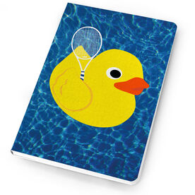 Tennis Notebook One Bad Rubber Tennis Player