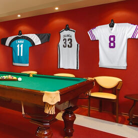 JerseyGenius: The Jersey and Shirt Wall Display Unit