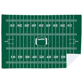 Football Premium Blanket - Field