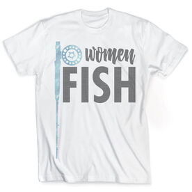Vintage Fly Fishing T-Shirt - Reel Women Fish
