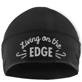Beanie Performance Hat - Figure Skating Living On The Edge