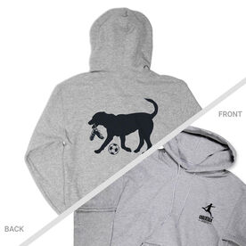 Soccer Hooded Sweatshirt - Sport The Soccer Dog (Logo Collection)