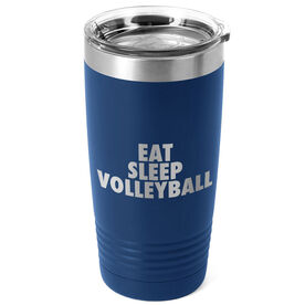 Volleyball 20 oz. Double Insulated Tumbler - Eat Sleep Volleyball