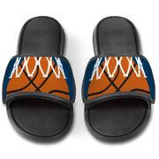Basketball Repwell® Slide Sandals - Ball in Net