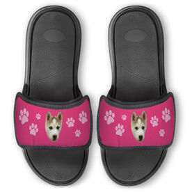 Personalized For You Repwell™ Slide Sandals - Custom Dog Photo
