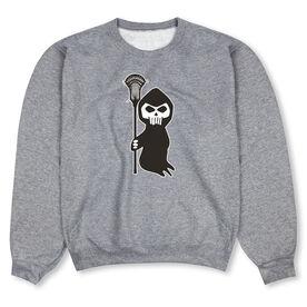Guys Lacrosse Crew Neck Sweatshirt - Lacrosse Reaper