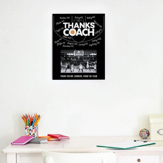 Basketball Photo Frame - Coach (Autograph)
