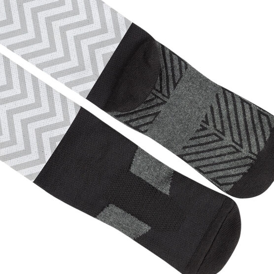 Running Printed Knee-High Socks - Merry Miles