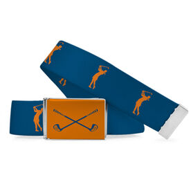 Golf Lifestyle Belt Woman Golfing