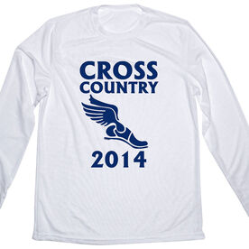 Men's Running Customized Long Sleeve Tech Tee Cross Country Winged Foot