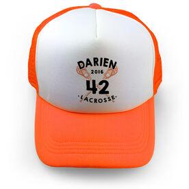 Guys Lacrosse Trucker Hat Crossed Sticks