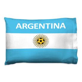 Soccer Pillowcase - Argentina
