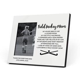 Field Hockey Photo Frame - Field Hockey Mom Poem