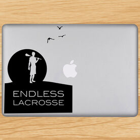 Endless Lacrosse Removable ChalkTalkGraphix Laptop Decal