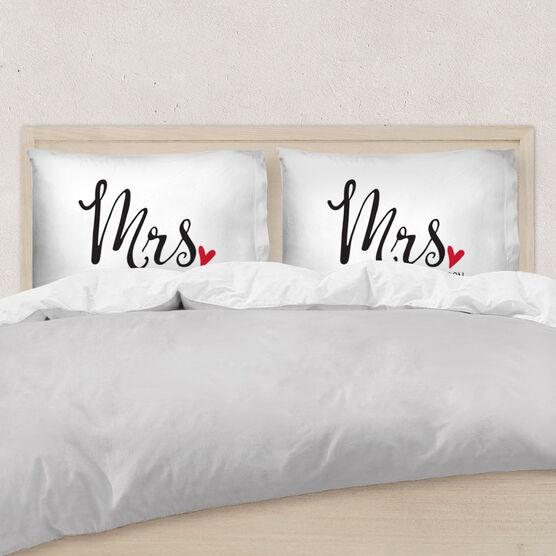 Personalized Pillowcase - Mrs.