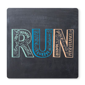 """Running 12"""" X 12"""" Removable Wall Tile - Inspire to RUN"""